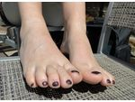 Sie mit Fuß Fetisch sucht