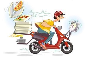 Pizzafahrer/in gesucht