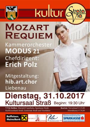 MOZART REQUIEM mit Chefdirgent Erich Polz und MODUS21