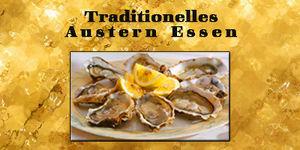 Austern Essen in der Vinofaktur